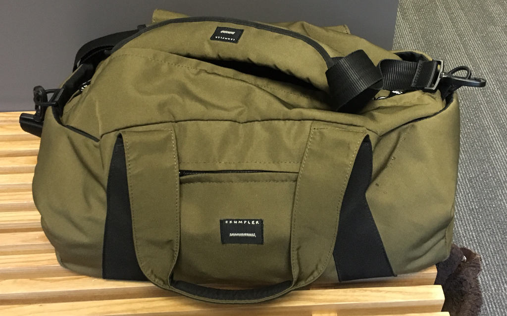Crumpler Spring Peeper gym bag