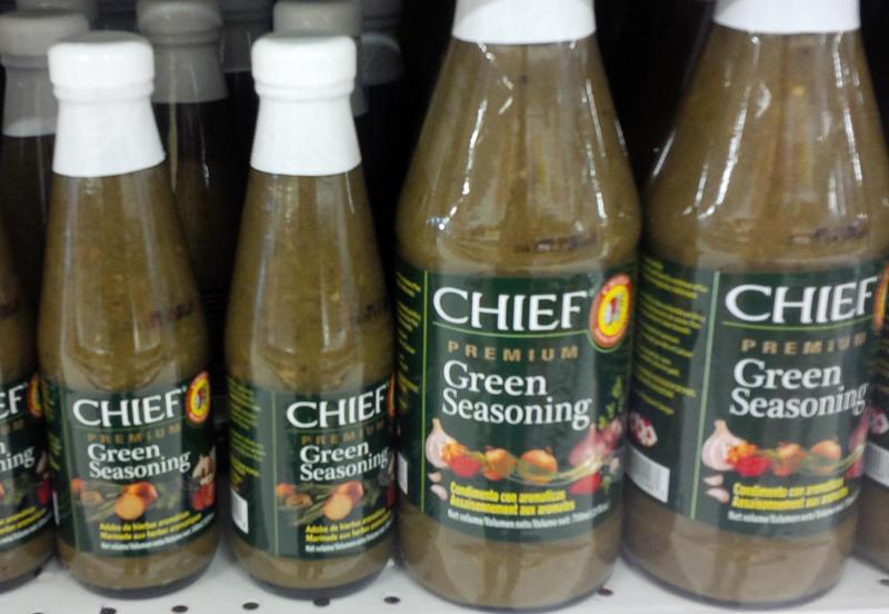 Chief green seasoning sauce